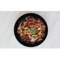 Фунчоза (скляна локшина, бобова) з овочами