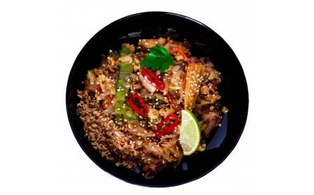 Пад Тай (рисова локшина) з овочами